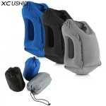 XC USHIO The Most Diverse & Innovative Inflatable Travel Neck Pillow on Airplane Footrest Flight Cushion For Kids...