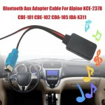 Bluetooth Aux кабель-адаптер для Alpine/KCE-237B/CDE-101/CDE-102/CDA-105/IDA-X311 Динамик...