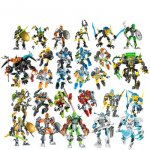 Hero Factory 3,0 ROCKA BULK Furno Bulk DIY Блоки Кирпичи совместимы с legoing Bionicle Робот...