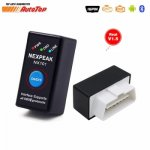 2019 Новый ODB2 EML327 OBD2 Bluetooth адаптер EML 327 V1.5 ELM327 БД автоматический...