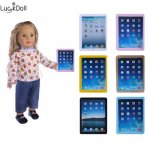 Luckydoll ipad планшеты компьютер модель fit 18 дюймов американская кукла...