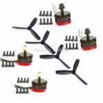 RS2205 2300kv/2600 kvBrushless двигатель RS2205 2300kv/2600kv для QAV200 210 250 Квадрокоптер с...