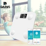 SDRISB Bathroom Scales Body Fat Digital Bathroom Weight Scales Electronic Scales 0.01g Intelligent Household Scales...