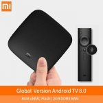 Xiaomi MI TV BOX Smart 4 K HD Android TV Box Quad Core 2 Г/8 Г Двойной Wi-Fi с Коди Youtube IPTV Media Player тв приставка