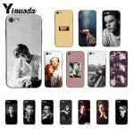 Yinuoda young leo Young Leonardo DiCaprio being suave Coque Shell чехол для телефона iPhone 8 7 6 S 6...